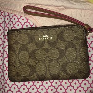 Never been used COACH wristlet